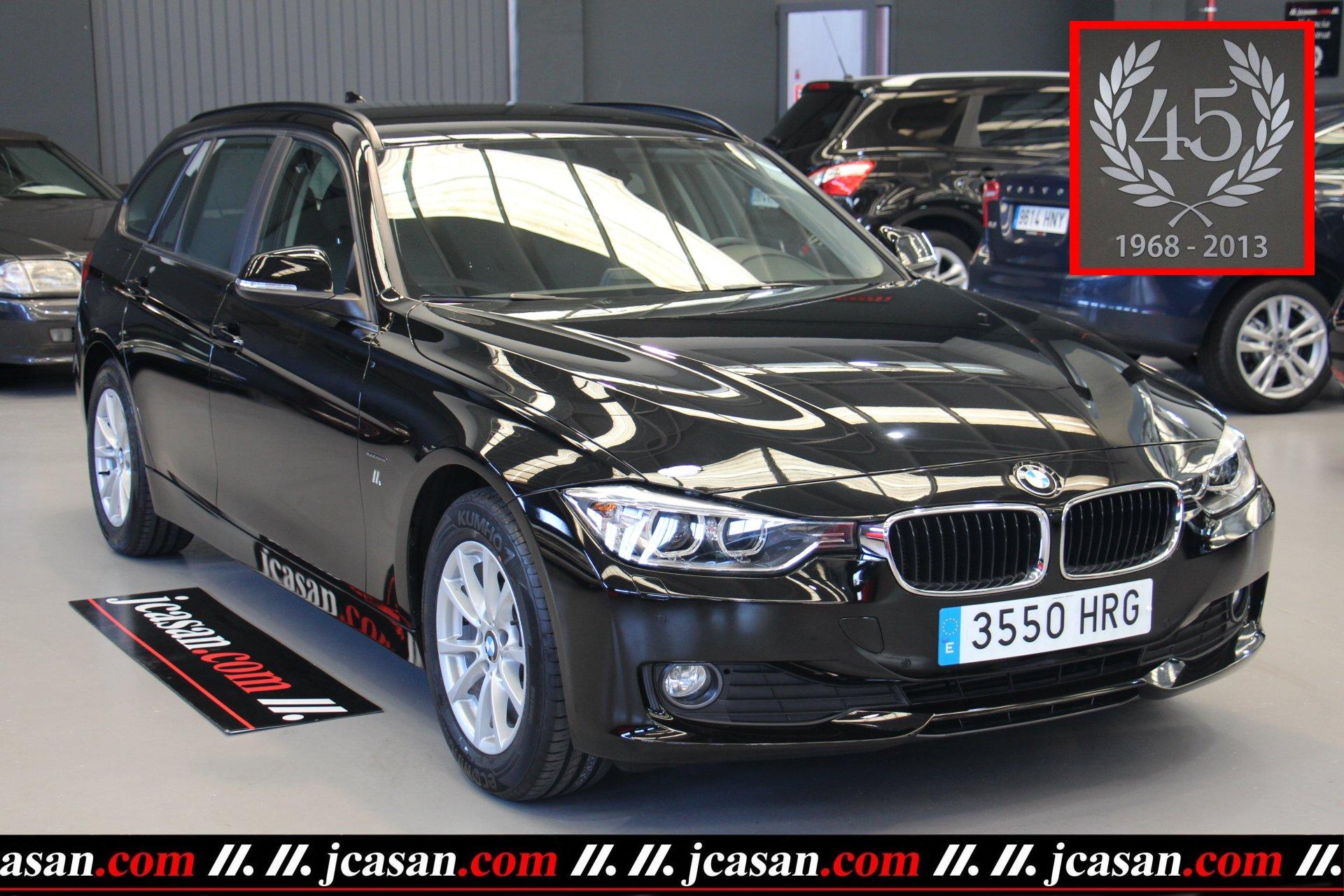 BMW 318d TOURING 143 CV 6 Vel Black Edition