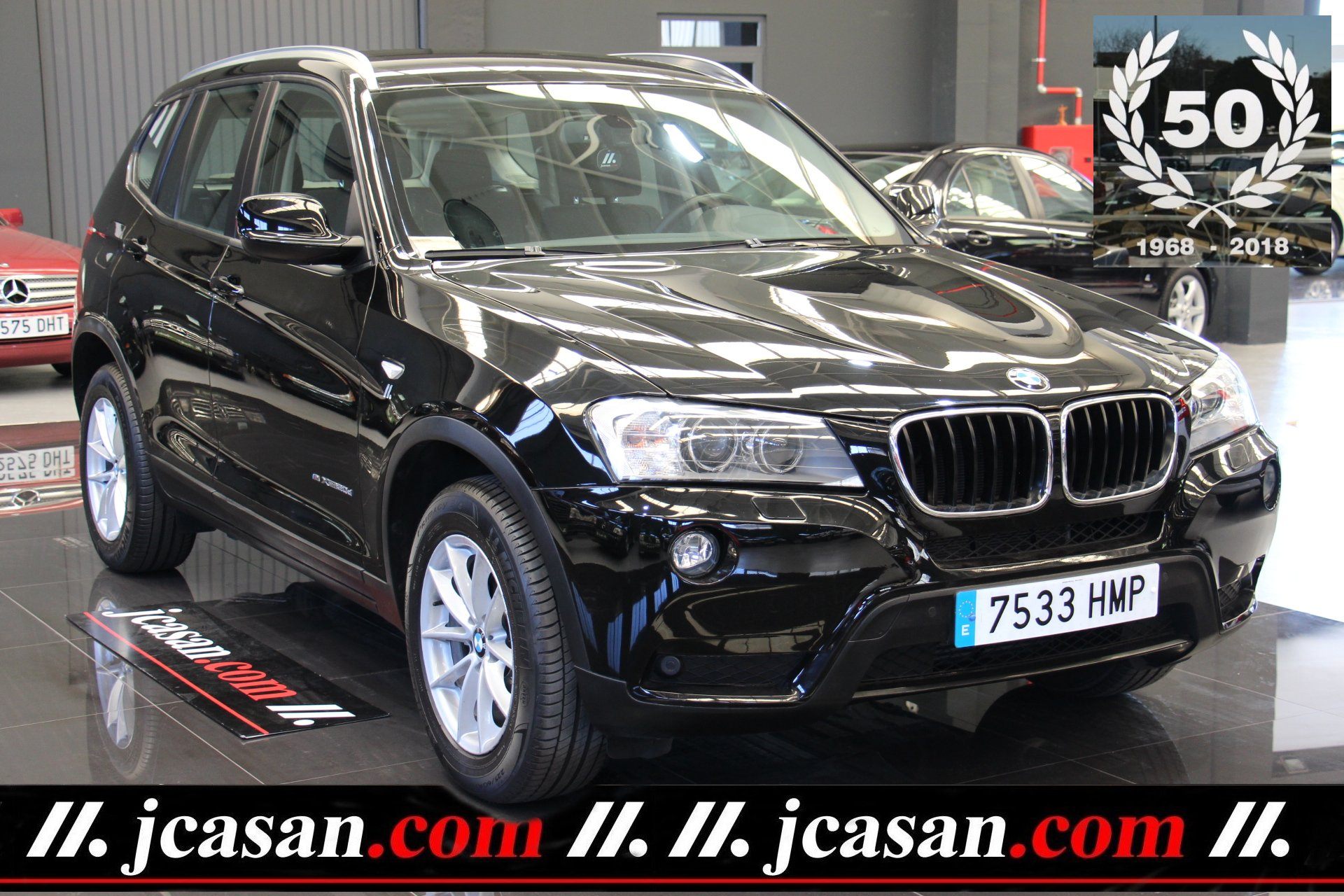 BMW X3 2.0d XDRIVE 4X4 184 CV 6 Vel