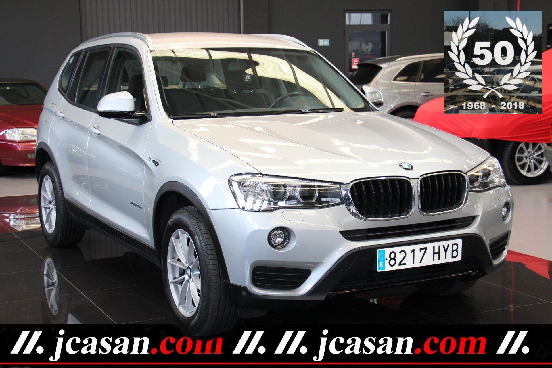 BMW X3 XDRIVE 2.0d 190 CV Euro6 4X4 ref 8217