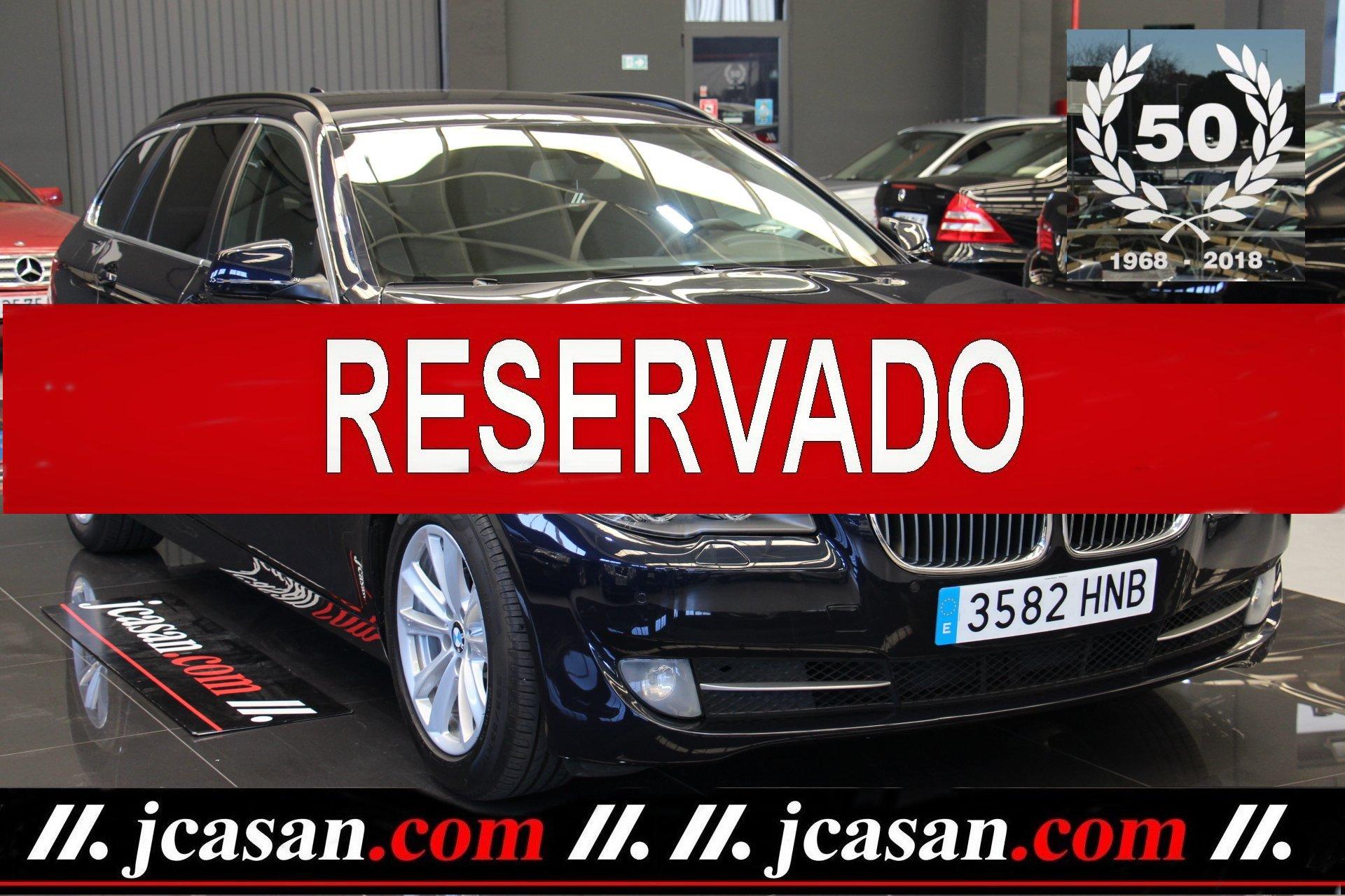 BMW 520d 184 CV TOURING 6 Vel BLUE