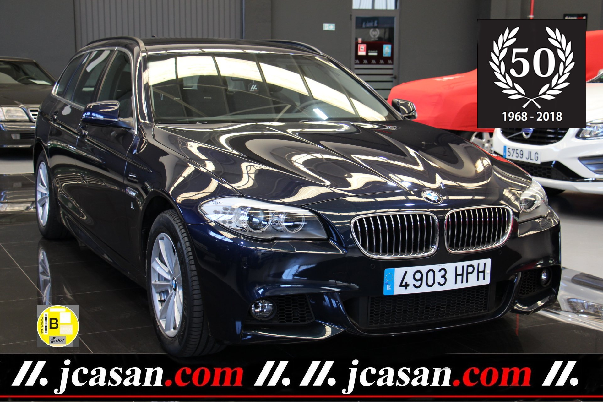 BMW 520d 184 CV TOURING 6 Vel