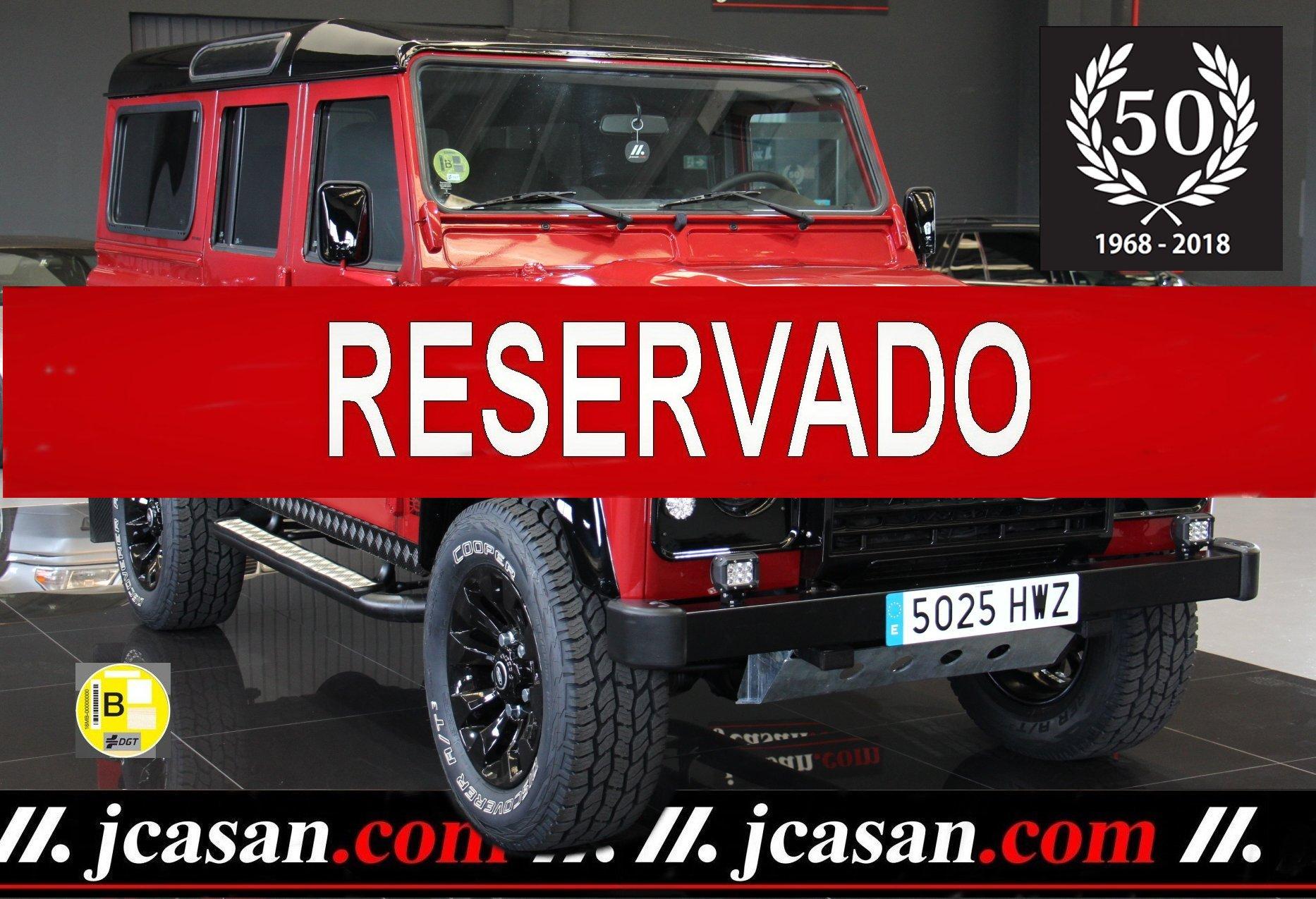 LAND ROVER DEFENDER 110 2.2 122 CV 6 Vel  ref 5025